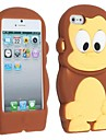 Monkey Soft Silicon Case for iPhone 5/5S