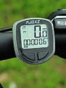 FJQXZ de alta qualidade a prova d\'agua com fio Preto bicicleta Velocimetro / cronometro