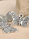 eruner®21 * 12 milímetros borboleta bonito encantos de liga leve jóias diy (10pcs)