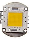 통합 ZDM ™ DIY 100w 높은 전력 8000-9000lm 따뜻한 하얀 빛이 모듈을 주도 (32-35v)