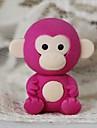 borrador lindo desmontable pequeno mono en forma (color al azar x 2 pcs)