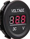 tension conduit volts electrique indicateur de moniteur de metre testeur dc 12v-24v voiture numerique