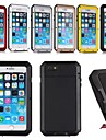FITIN Aluminum Waterproof Shockproof Gorilla Glass Case with Touch ID for iPhone 6 Plus