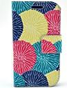 For Samsung Galaxy Case Card Holder / Flip / Pattern Case Full Body Case Flower PU Leather Samsung Trend Lite
