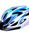 FJQXZ Femme Homme Unisexe Velo Casque 18 Aeration Cyclisme Cyclisme Cyclisme sur Route L : 59-63cm Polycarbonate EPS Blanc Bleu