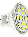 2w gu4 (mr11) прожектор 12 smd 5730 240-260 lm теплый / холодный белый dc 12 v