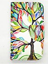 The Tree Of Life Pattern PU Leather Full Body Case with Card Slot and Stand for iPhone 4/4S