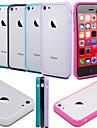 Design Especial - iPhone 5C - Capa traseira ( Preto/Branco/Azul/Roxo/Rosado , Silicone )