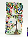 The Tree of Life Pattern PU Leather Case Cover with A Touch Pen ,Stand and Card Holder for LG L90