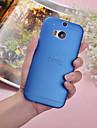 Для Кейс для HTC Ультратонкий / Полупрозрачный Кейс для Задняя крышка Кейс для Один цвет Твердый PC HTC