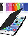 Pour Coque iPhone 6 Coques iPhone 6 Plus Clapet Magnetique Coque Coque Integrale Coque Couleur Pleine Dur Cuir PU pouriPhone 6s Plus/6