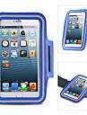 Pour Avec Ouverture Brassard Coque Brassard Coque Couleur Pleine Flexible Tissu pour Universel iPhone 6s Plus/6 Plus iPhone 6s/6