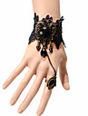 Vintage Gothic Bracelet With Ring