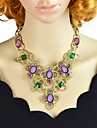 Jewelry Choker Necklaces / Vintage Necklaces Party / Daily Alloy Women Green Wedding Gifts