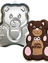 네-C 곰 모양의 알루미늄 케이크 베이킹 도구 베이킹 팬 금형