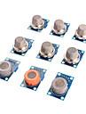 sensor de gas modulo kit mq-2 mq-3 mq-4 mq mq-5-6 mq-7 mq-8 mq mq-9-135 sensor para arduino