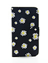 For Samsung Galaxy Case Card Holder / Wallet / with Stand / Flip Case Full Body Case Flower PU Leather SamsungS6 edge plus / S6 edge / S6