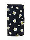 Para Samsung Galaxy Capinhas Carteira / Porta-Cartao / Com Suporte / Flip Capinha Corpo Inteiro Capinha Flor Couro PU SamsungS6 edge plus