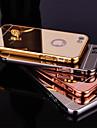 아이폰 7 플러스 아이폰 5 / 5S 용 금속 프레임 전화 케이스 다시 새로운 도금 미러
