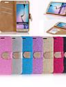 For Samsung Galaxy Case Card Holder / Rhinestone / Flip Case Full Body Case Glitter Shine PU Leather SamsungS6 edge plus / S6 edge / S6 /