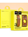 Watch Band for Apple Watch 3 38mmm 42mm Leather Replacement Stap Wristband With Adapter
