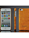 용 아이폰5케이스 카드 홀더 케이스 뒷면 커버 케이스 단색 하드 인조 가죽 iPhone SE/5s/5