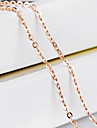 Women\'s Chain Necklaces Cross Gold Costume Jewelry Jewelry For Wedding Party Daily Casual