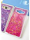 Fun Glitter Star Liquid Back Quicksand Transparent Clear PC Hard Cover For Samsung Galaxy J5