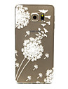 Pour Samsung Galaxy Coque Transparente Coque Coque Arriere Coque Pissenlit PUT pour Samsung S6 edge plus S6 edge S6 S5 Mini S5