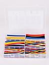 iztoss 180pcs 90mm 2: 1 6 taille kit cable manchon de tube thermoretractable φ1.6-9.5 0.8mm-4.8mm de polyolefine wrap