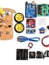 nouvelle evitement boite moteur de suivi robot intelligent chassis de la voiture kit de batterie de capteur de vitesse 2wd Module
