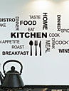 8335 Kitchen Cook Appliance and Kitchen English Explosion Wall Wallpaper