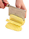 Undulating Wave Potatoes Vegetable And Fruit Cut Knife