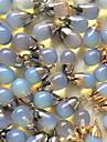 поделки украшения синий камень стиль кулон сплава