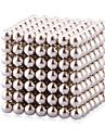 Jouets Aimantes 216 Pieces 3 MM Jouets Aimantes Blocs de Construction Boules magnetiques Gadgets de Bureau Casse-tete Cube Pour cadeau