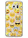 Emoji Tile Pattern Soft Ultra-thin TPU Back Cover For Samsung GalaxyS7 edge/S7/S6 edge/S6 edge plus/S6/S5/S4