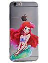 Pour Coque iPhone 6 / Coques iPhone 6 Plus / Coque iPhone 5 Motif Coque Coque Arriere Coque Dessin Anime Flexible TPU AppleiPhone 6s