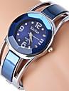 Xinhua Women\'s Fashion Strap Watch Bangle Watch Bracelet Pattern Female Quartz Watch Imitation Diamond Wrist Watch Party Watch