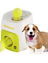 Brinquedo Para Cachorro Brinquedos para Animais Bola Interativo Alimentador Automatico Bola de Tenis Plastico