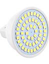 5W GU5.3(MR16) Lampadas de Foco de LED MR16 54 SMD 2835 400-500 lm Branco Quente / Branco Frio Decorativa 30/9 V 1 pc