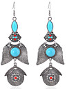 MPL European and American fashion retro geometric Beads Earrings