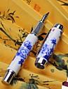 Caneta Caneta Canetas Caneta,Ceramica Barril Preto cores de tinta For material escolar Material de escritorio Pacote de