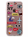 For iPhone X iPhone 8 iPhone 7 iPhone 6 iPhone 5 Case Case Cover Ultra-thin Pattern Back Cover Case Cartoon Soft TPU for Apple iPhone X