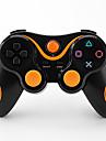 Controleur sans fil bluetooth 6 axes et le cable de chargeur pour ps3 console de jeu (couleurs assorties)