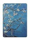 Для Бумажник для карт Оригами Кейс для Чехол Кейс для Цветы Твердый Искусственная кожа для Apple iPad Air 2 iPad Air