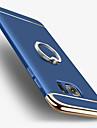 용 도금 링 홀더 케이스 뒷면 커버 케이스 단색 하드 PC 용 Samsung S7 edge S7