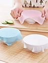 1pcs novo multi-funcional silicone Saran filme plastico reutilizaveis tampa de vacuo cozinha cobertura de armazenamento de alimentos