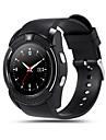 kimlink® v8 smartwatch camera tela de toque chamadas maos-livres pedometro controle remoto rastreador de aptidao