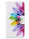 Для Кошелек Бумажник для карт со стендом Флип Кейс для Чехол Кейс для Цветы Твердый Искусственная кожа для SamsungJ5 (2016) J3 (2016) J3