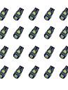 20Pcs T10 5*5050 SMD Chalkboard Decoding LED Car Light Bulb White Light DC12V